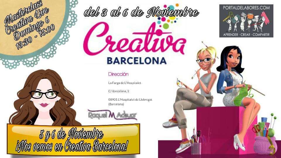 Cartel de Creativa Barcelona