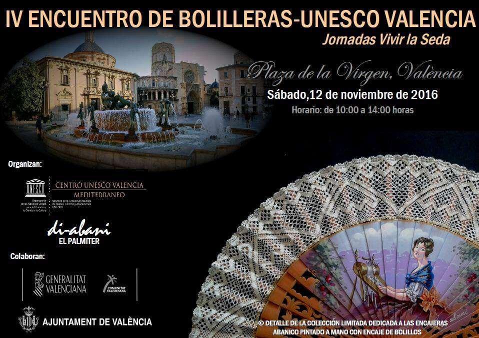 Encuentro de bolillos Unesco Valencia