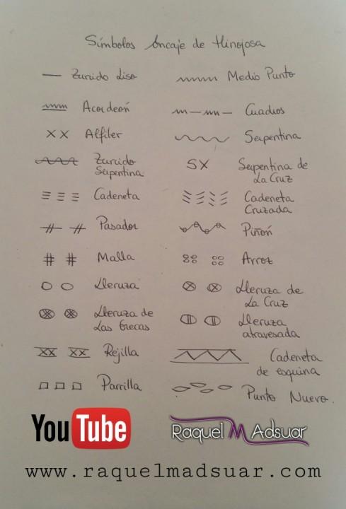 símbolos del encaje de hinojosa