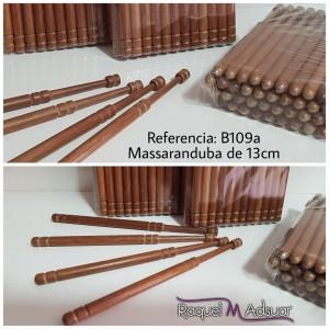 Bolillos de Massaranduba de 13 centímetros