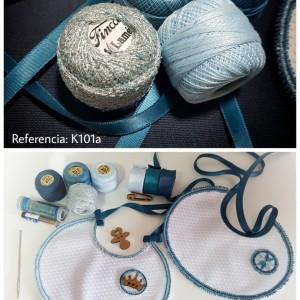 Finca Vintage Bebé Azul