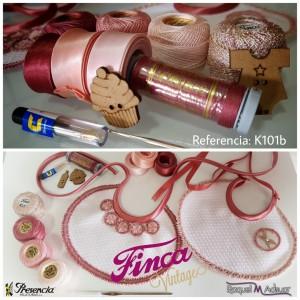 Kit Finxa Vintage Bebé Rosa