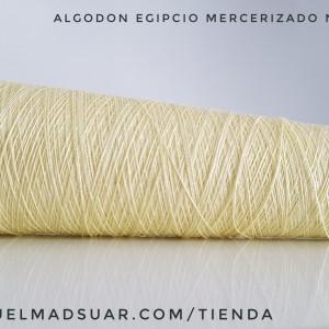 algodon color vainilla