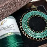 Colgante Esencia Verde Circular