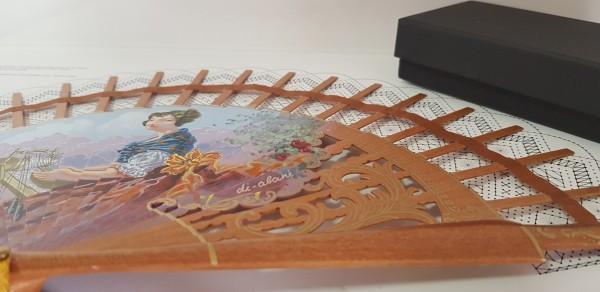 varillas para abanicos decoradas