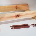 base madera ancha