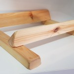 base madera pequeña