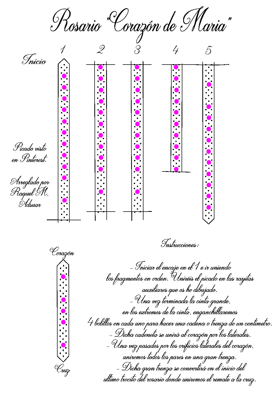 Picados - Patrones GRATIS